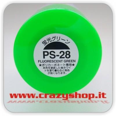 Colore Spray PS28 Verde Fluorescente