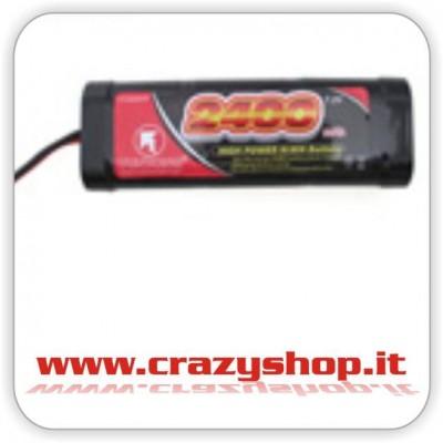 Batteria NiMh 7,2 V 2400 mAh