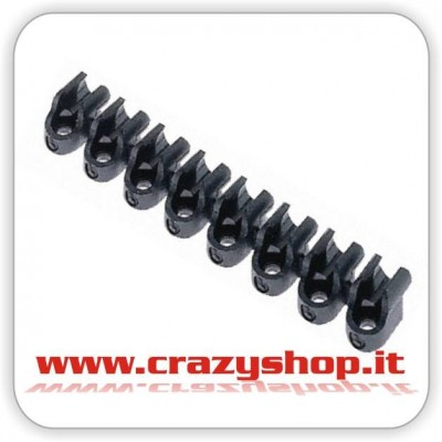 Clip Barrette per Tubi 4mm.