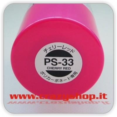 Colore Spray PS33 Rosso Ciliegia