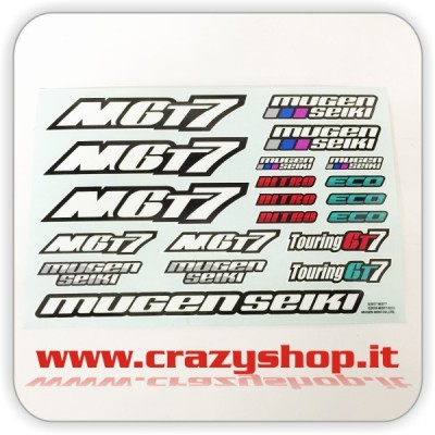 Nitro GT Original Stickers