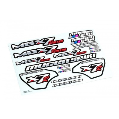 MBX-7R 1:8 Original Stickers