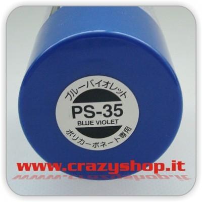 Colore Spray PS35 Blu Viola Luminoso