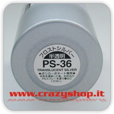 Colore Spray PS36 Argento Traslucido