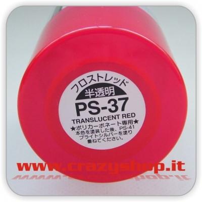 Colore Spray PS37 Rosso Traslucido
