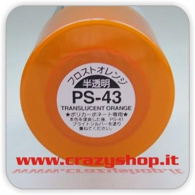 Colore Spray PS43 Arancio Traslucido