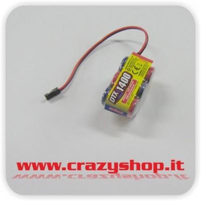 Batteria NiMh 6V 1400mAh