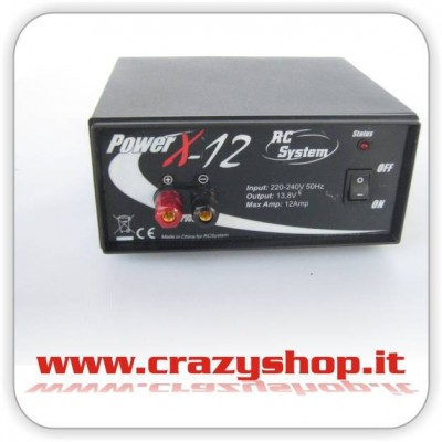 Alimentatore Power X 12A