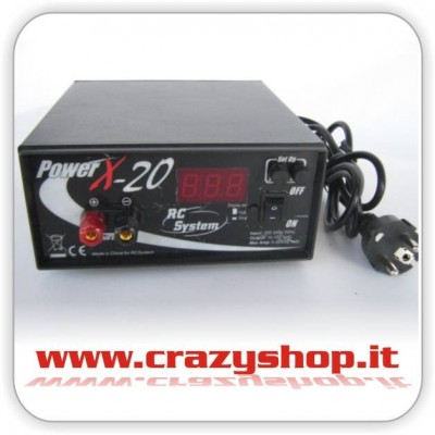 Alimentatore Power X 20A