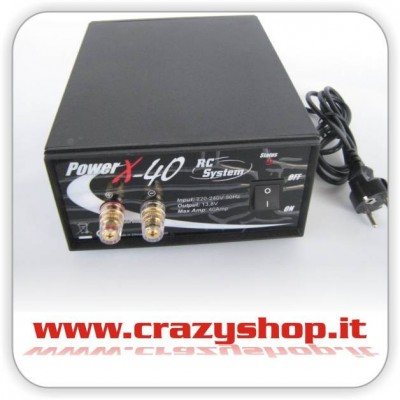 Alimentatore Power X 40A