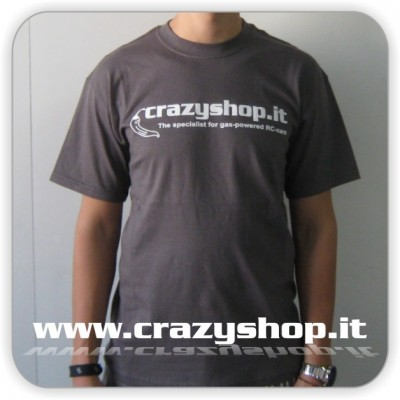 T-Shirt Crazyshop Grigia