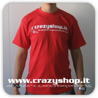 T-Shirt Crazyshop Rossa