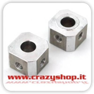 Trascinatori Ruota 14mm. in Alluminio