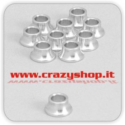 Boccole in Alluminio 5mm.