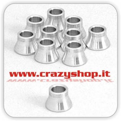 Boccole in Alluminio 7mm.