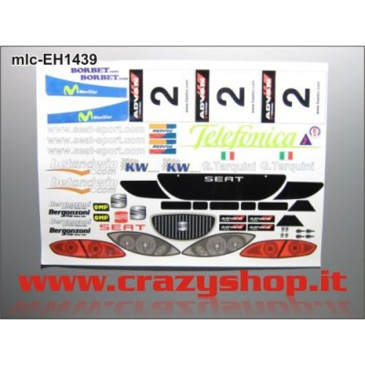 Kit Decals per Seat Leon Completo