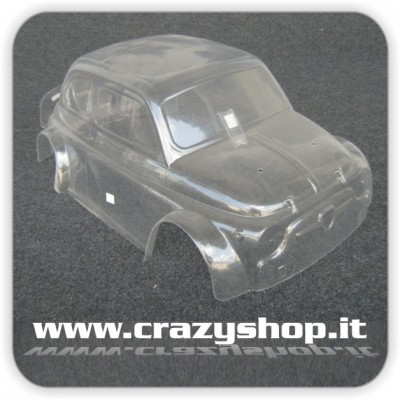Carrozzeria 500 Abarth Old in Lexan Completa
