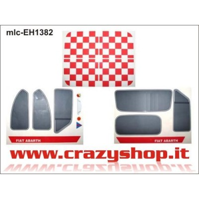 Kit Decals per 600 Abarth Completo