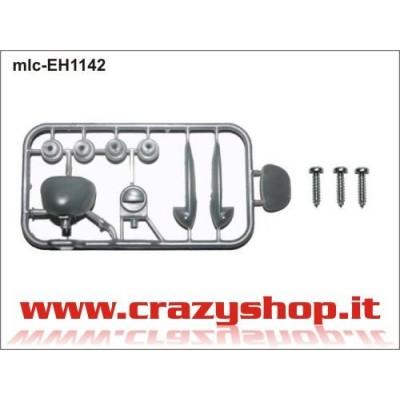 Kit Accessori Fiat 500