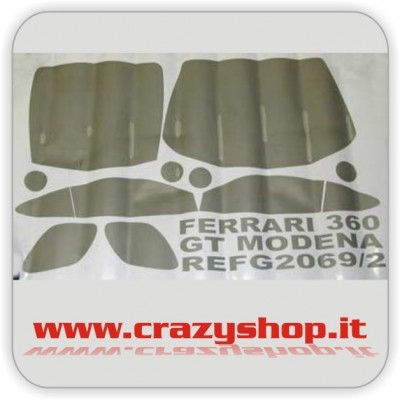 Decals Finestrini per Ferrari 360