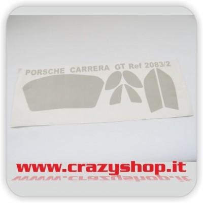 Decals Vetri Porsche Carrera GT