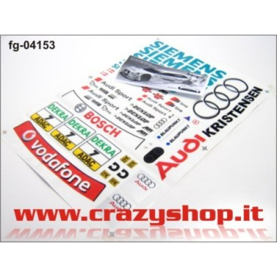 Decals Set Audi A4 DTM