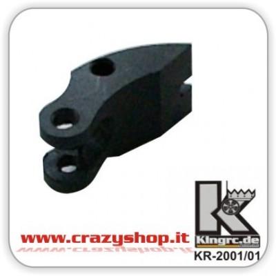 Clutch-Pad in Carbon Fiber per Frizione KR-2000