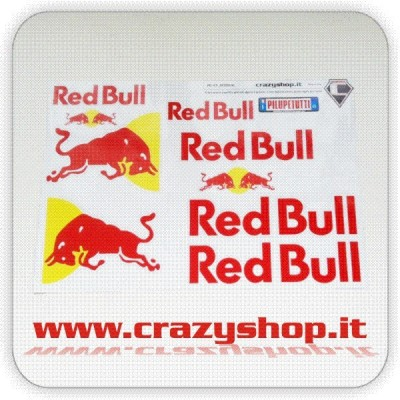 Adesivi NATIKO Kit Red Bull A3