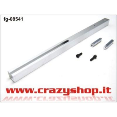 FG Asta Misurazione in Alluminio 390mm.