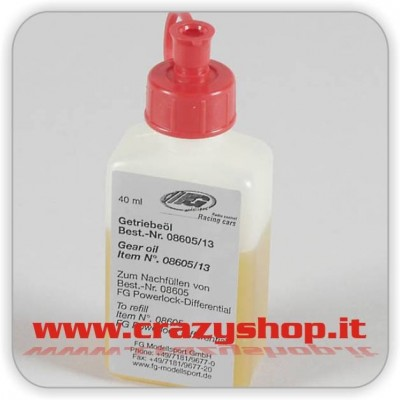 FG Olio 40ml. per Differenziale Powerlock