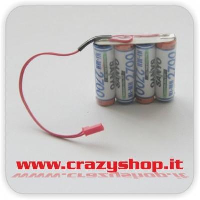 Pacco Batterie 4.8V Sanyo Stilo