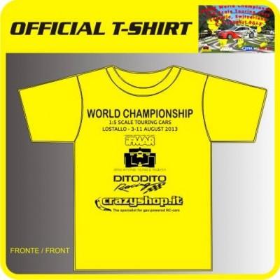 """T-Shirt Ufficiale Evento """"Campionato del Mondo 1:5"""""""
