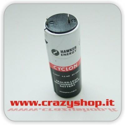 Batteria al Piombo (Cyclon) 2V 4,5 Ah