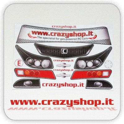 Adesivi Pretagliati Toyota Avensis 1:5
