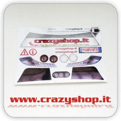 Adesivi Pretagliati Ferrari 458 1:5