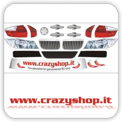 Adesivi Pretagliati BMW320 WTCC 1:5