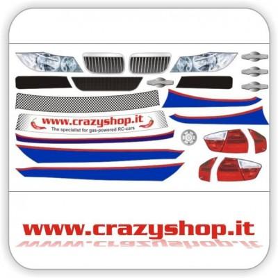 Adesivi Pretagliati BMW320 WTCC 1:5 FG