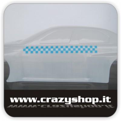 Adesivo Scacchiera Azzurro
