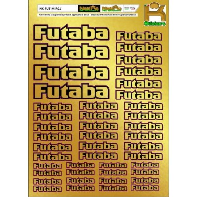 Logo Sponsor Chrome FUTABA