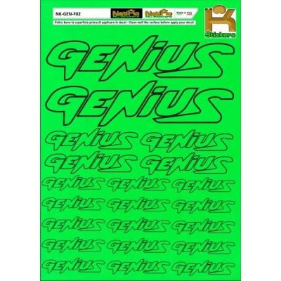Logo Sponsor Verde Fluo GENIUS