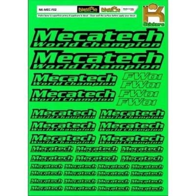 Logo Sponsor Verde Fluo MECATECH