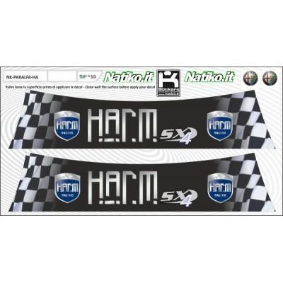 Harm - Set 2 Parasole Adesivo Fustellati