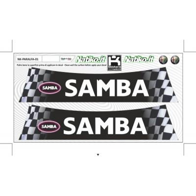 Samba - Set 2 Parasole Adesivo Fustellati