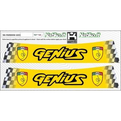 Genius - Set 2 Parasole Adesivo Fustellati