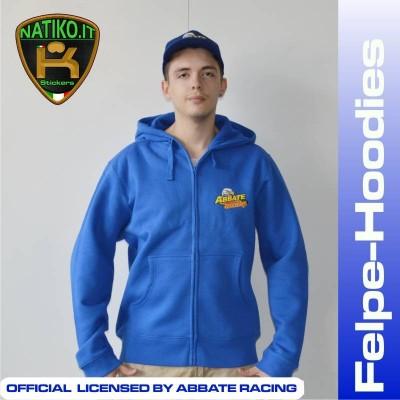 Abbate Racing Felpa con Zip Personalizzata