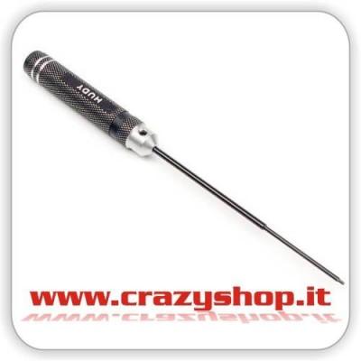 Chiave Brugola Passo Metrico 0,5mm.