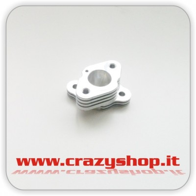 Abbate Racing Isolatore in Alluminio per Carburatore