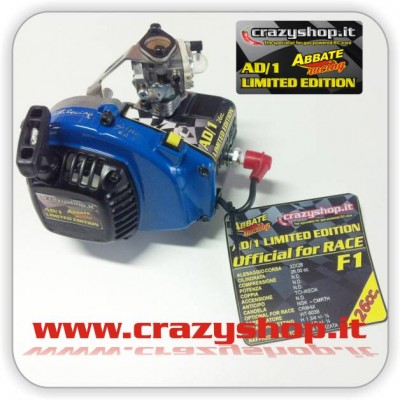 Motore Zenoah 26cc. preparazione Abbate Racing Limited