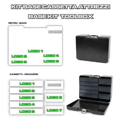 Grafica Personalizzata Toolbox 1 Cassetti + Retro