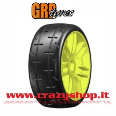 1:8 GT - T01 REVO - S1 XXSoft - Incollata su Cerchio a Raggi Giallo